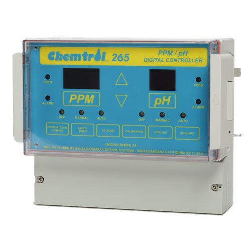 Chemtrol Australia Product - CH265 pH / FREE CHLORINE ANALYZER