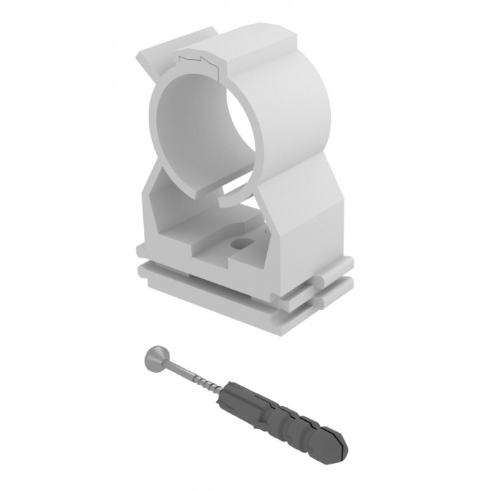 Chemtrol Australia Category Image - Expert pipe clip with screw and plug