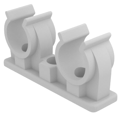 Chemtrol Australia Product - Double pipe clip