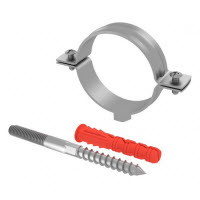 Chemtrol Australia Category Image - SINGLE metal pipe clamp set, Screw and Plug