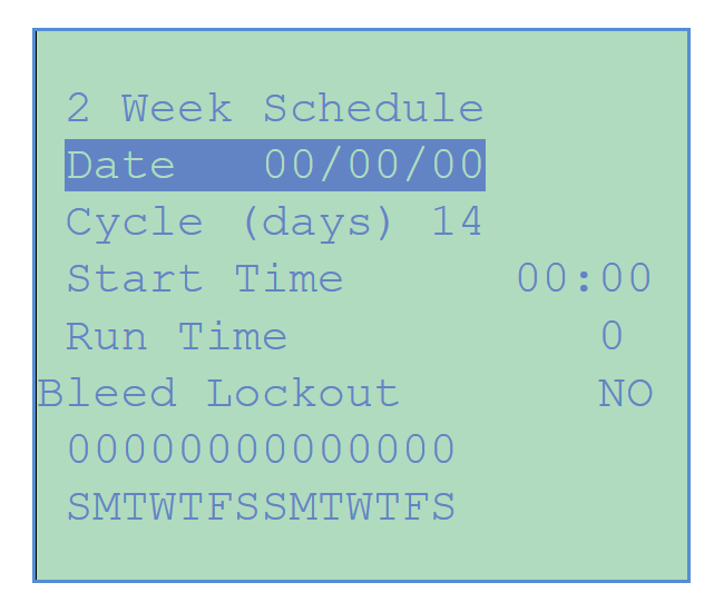 Chemtrol Australia Category Image - 2-week Schedule