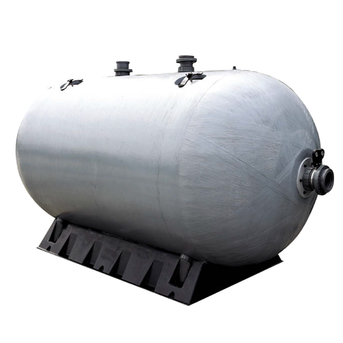 Chemtrol Australia Category Image - Horizontal Fiberglass Tank with Side Flanges