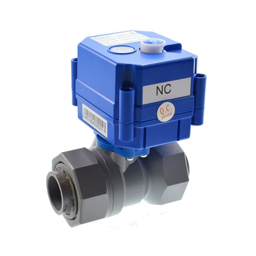 Chemtrol Australia Category Image - uPVC Mini Motorized Ball Valve